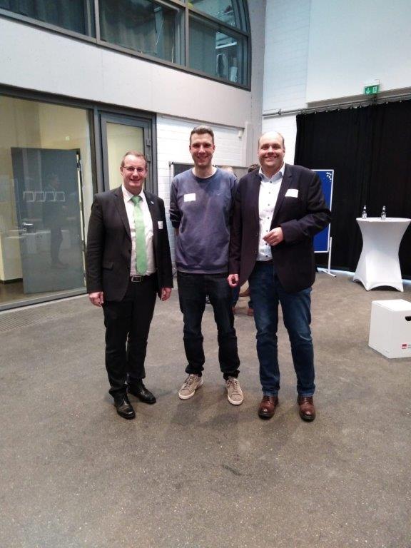 Beim Unternehmertag mit dem BM aus Tecklenburg