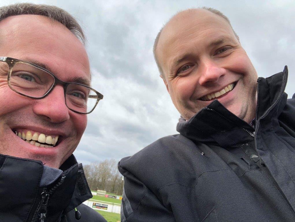 Mit Thomas Eppendorf beim Heimspiel des VfL